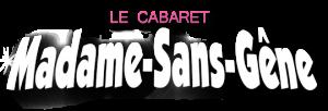 logo cabaret madame sans gene